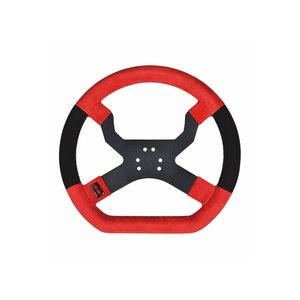 Aim MyChron5 Steering Wheel Red/Black 6 holes