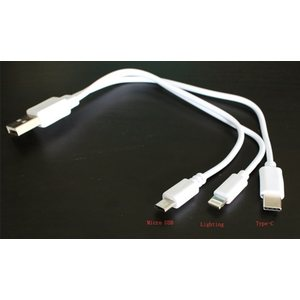 Hyper Smart start 3-IN-1 type-C USB cable