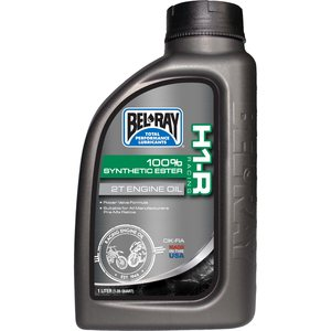 Bel-Ray H1-R SYNTHETIC 2-S RACING OIL 1L