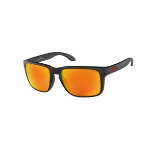 Oakley Holbrook XL sunglasses Matte Black w/ PRIZM Ruby