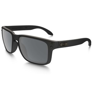 Oakley Holbrook Sunglasses frame polished black Lens prizm grey w/ black iridium