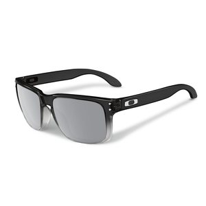 Oakley Holbrook sunglasses dark ink fade chrome iridium polarized