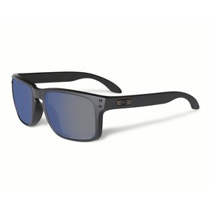 Oakley Sunglasses Holbrook matte black ice iridium polarized