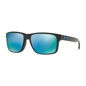 Oakley Sunglasses Holbrook Polished Black w/ Prizm Deep H2O Pol
