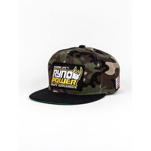 Ryno Power Hat Camo Bill Snapback