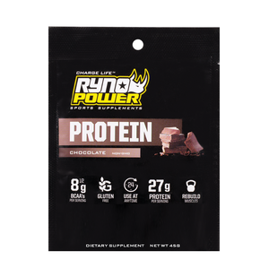 Ryno Power Chocolate Protein Single Serving