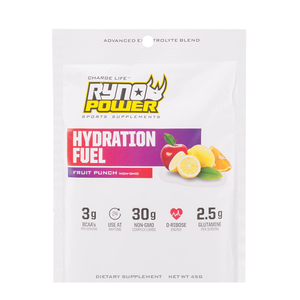 Ryno Power Hydration Fuel Sample Single Serving, Fruit Punch