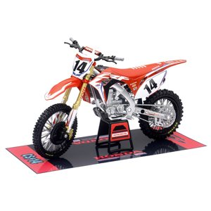 New-Ray 1:12 Honda CRF450R HRC Racing Cole Seely