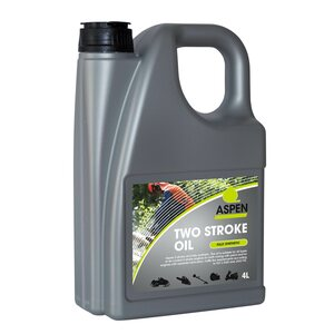 Aspen Two stroke oil, 4 x 4L