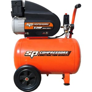 SP Tools 2.2hp Portable Air Compressor - Traditional