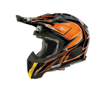 Airoh Aviator 2.1 Linear orange lippa