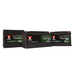 Yuasa L26-80 Active Leisure Battery 12V 80Ah 560A Huom.Rullakkorahti