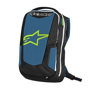 Alpinestars AS Selkäreppu City Hunter Musta/Sininen/Lime 25L
